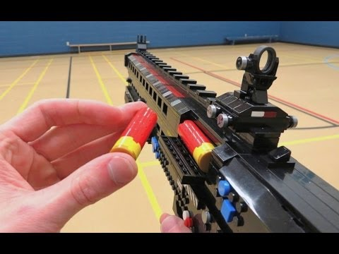TAC - What will be made next? ▻ Subscribe! ‪http://bit.ly/NombieSub‬ Complete with LEGO shotgun shells, we bring the Tac 12 shotgun to life! Featured in Call of Du...