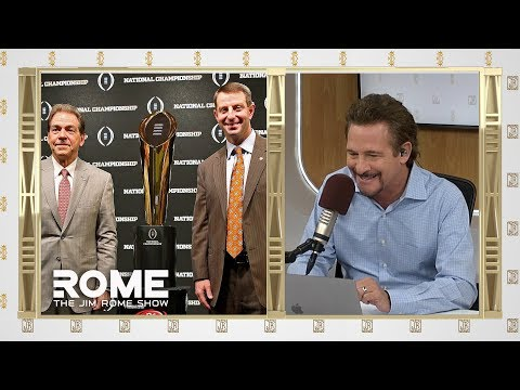 Video: Dabo Outcoaches Nick Saban   The Jim Rome Show