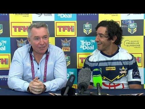 NRL Press Conference: North Queensland Cowboys - Round 25