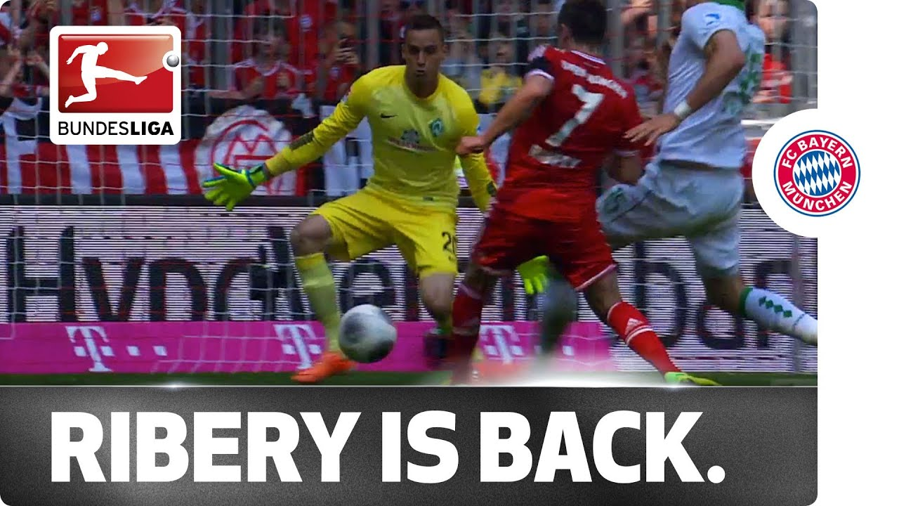 Franck Ribery Finds His Shooting Boots Again