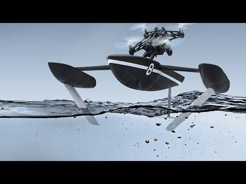 Havada, karada ve suda giden drone