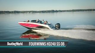 3. FourWinns HD240 SS OB – Boat Test