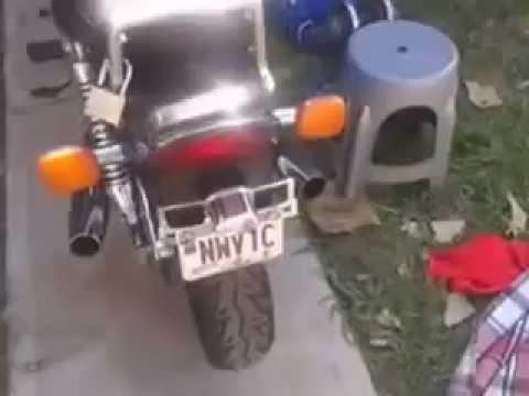 Honda magna v30 1984 (видео)