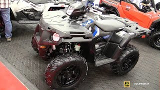 7. 2018 Polaris Sportsman 570 SP Recreational ATV - Walkaround - 2017 Drummondville ATV Show