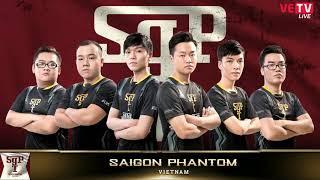 Saigon Phantom - AHQ White Ván 2 Bán kết 1- Throne of Glory 2017 [16.07.2017] Throne of Glory 2017 (ToG 2017), giải đấu quốc tế đầu tiên của Liên Quân ...