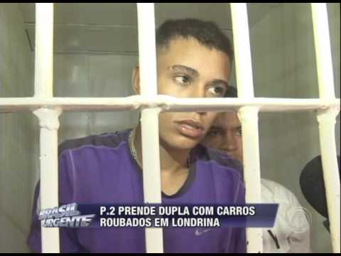 P.2 prende dupla com carros roubados em Londrina
