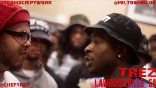 Spit Dat Heat | Automatic Ray vs. Trez