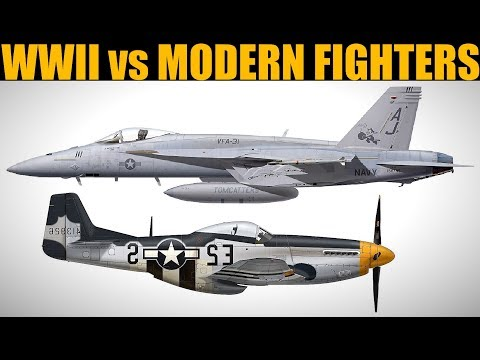 WWII vs Modern Fighters In Turn Fights Testing | DCS WORLD
