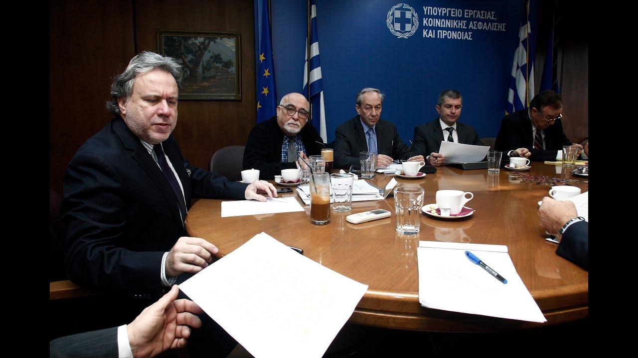 Στη συγκρότηση Επιτροπής Εμπειρογνωμόνων συμφώνησαν Κατρούγκαλος και φορείς των επιστημόνων