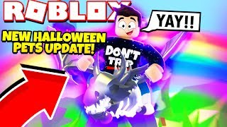 NEW HALLOWEEN PETS Update in Adopt Me! NEW Adopt Me Halloween 2019 Update (Roblox)