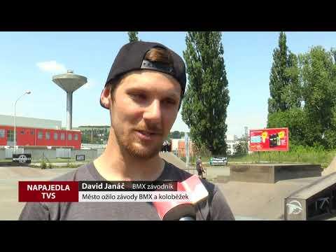 TVS: Napajedla - Závody BMX