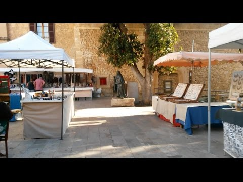 Son Servera Wochenmarkt Mallorca 2016