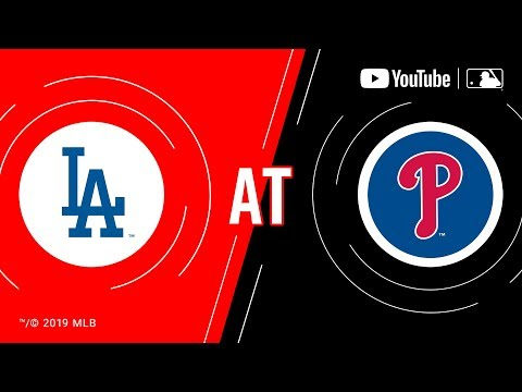 Video: Dodgers at Phillies | MLB Game of the Week Live on YouTube