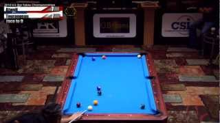 2012 CSI U.S. Bar Table Championships 9 Ball Division Finals Tourangeau Vs Atwell Part 2