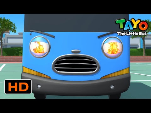 Tayo English Episodes l I can't believe this! I am on fire! l Tayo the Little Bus