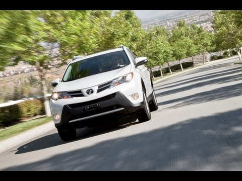 2013 toyota rav4 video review. Black Bedroom Furniture Sets. Home Design Ideas