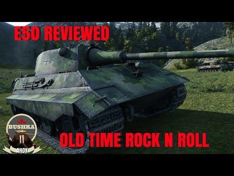 THE E50 RETRO WORLD OF TANKS BLITZ 1 (видео)