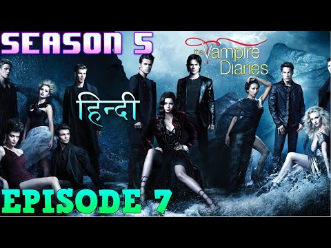 The Vampire Diaries Season 5 Episode 7 Explained Hindi  वैम्पायर डायरीज  BRING BACK BONNIE  WITCH