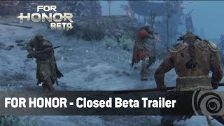 For Honor - Closed Beta-Trailer