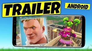 Fortnite Mobile ANDROID Release Trailer