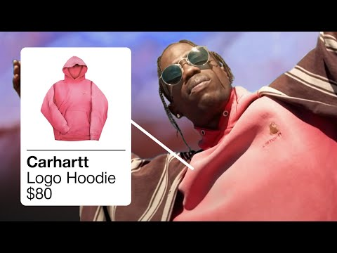 TRAVIS SCOTT OUTFITS IN SICKO MODE / STOP TRYING TO BE GOD / MAMACITA [RAPPERS OUTFITS]