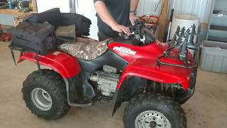 10. 2004 HONDA FOURTRAX RECON   - FOR SALE BY AUCTION