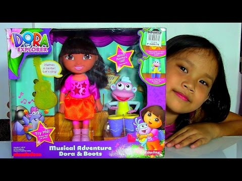 toys - Hi! Here is Dora the Explorer Musical Adventure Dora & Boots Playset by Nickelodeon and Fisher-Price. Dora and Boots create music mutually in this entertaining, interactive doll set. This Dora...