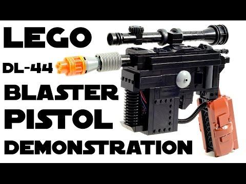 LEGO x Star Wars   Han Solo's DL 44 Blaster Concept by Julius von Brunk