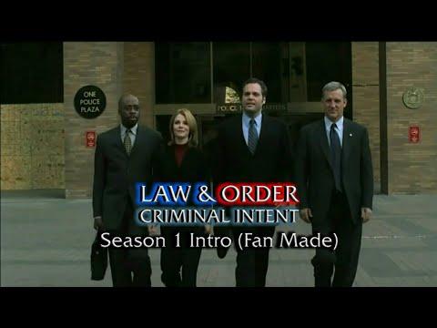 Law & Order: Criminal Intent: Season 1 Intro (Fan Made)