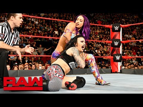 Sasha Banks Vs. Ruby Riott: Raw, April 30, 2018