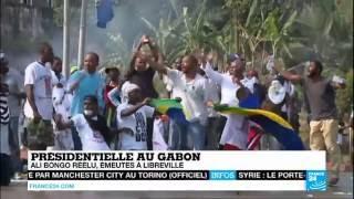 Libreville Gabon  City pictures : GABON - Ali Bongo réélu : Émeutes à Libreville et Port-Gentil
