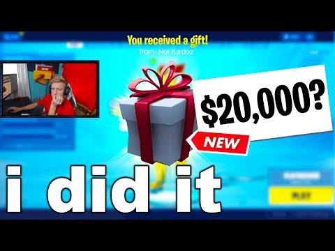 I Challenged Fortnite STREAMERS For $20,000