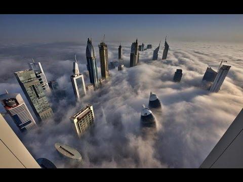 EDIFICIOS EN LAS NUBES. Dubai (видео)