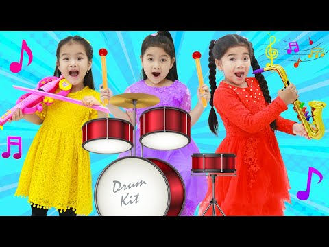 Suri Pretend Play Sing Along Nursery Rhymes & Kids Songs with Musical Instrument Toys