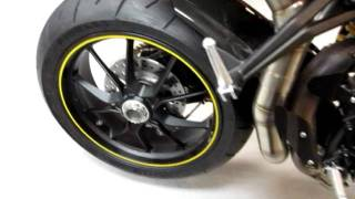 6. HSBK Ducati Streetfighter 848 EVO 848EVO QD Undertail Exhaust!