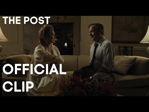 THE POST OFFICIAL 'REBELLION' CLIP - STREEP, HANKS, SPIELBERG