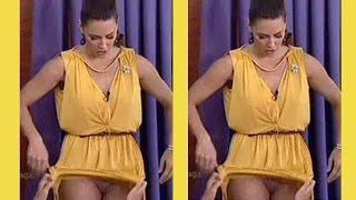 Video Serbian SUPER HOT TV Presenter Katarina Vucetic flashes underwear MP3, 3GP, MP4, WEBM, AVI, FLV Agustus 2017