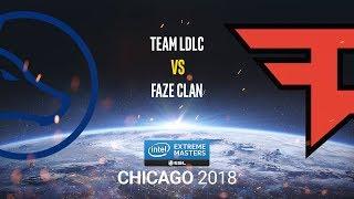 Team LDLC vs FaZe Clan - IEM Chicago 2018 - bo1 - de_mirage [Enkanis]