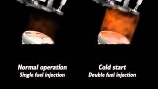 Injecția Directă Dublă - pornirea la rece