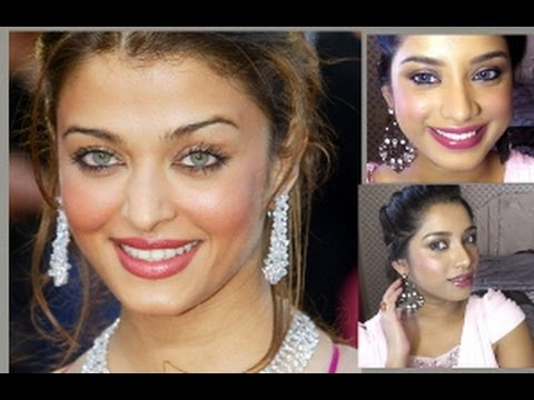 Aishwarya Rai inspired dewy make-up and hair tutorial + winner announcement of Cichic giveaway.