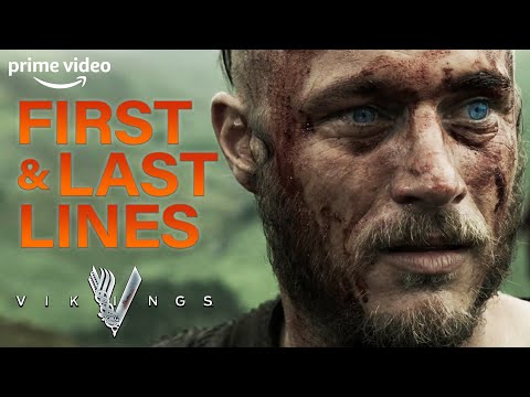 First and Last Lines | Vikings | Prime Video