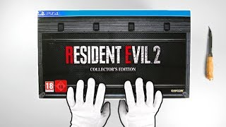 Resident Evil 2 Remake Collector's Edition Unboxing / Review (Limited European Version)