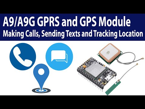 A9/A9G GPRS + GPS module complete tutorial, calling, texting and tracking location
