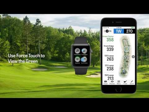 Golfshot for Apple Watch Tutorial