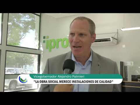 Quedaron inauguradas las refacciones en la Delegación de Ipross Viedma