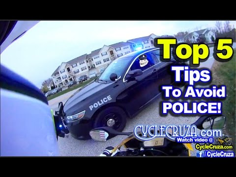 Top 5 Tips To Avoid Police on Motorcycle | MotoVlog