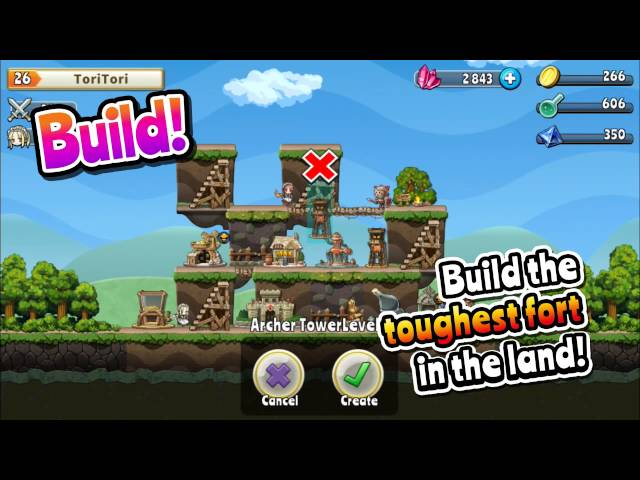 Видео к игре Fort Raiders