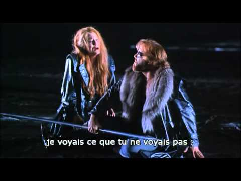 Wagner: Die Walkure, Act 3, Barenboim/Kupfer, french subs.