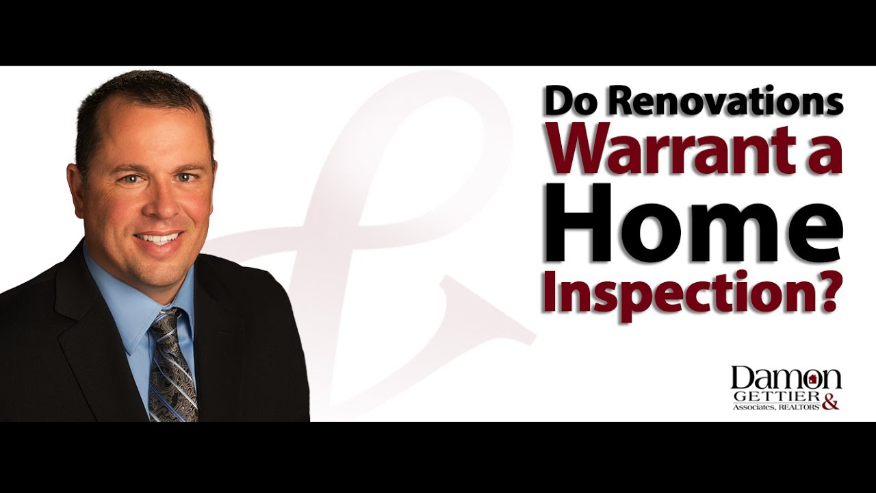 Should You Get an Inspection Before Making Renovations?