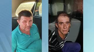 Três homens presos após serem flagrados furtando gado em Ubirajara
